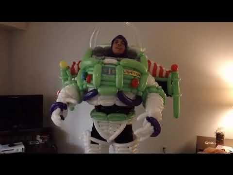 Buzz Lightyear, Space Ranger, Balloon Costume
