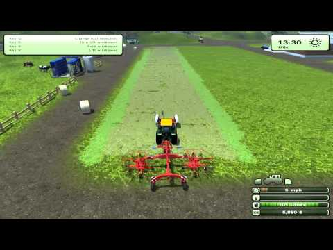 Farming Simulator 2013 - Hay. Tedders. & Windrowers