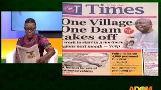 Badwam Newspaper Review on Adom TV (19-3-18)