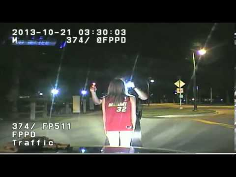 Teen wearing underwear busted for DUI