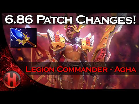 6.86 Patch Changes Dota 2 - Legion Commander Aghanim's Scepter Update!