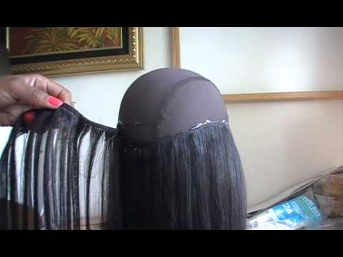 Quick Weave Wig (glue gun method)