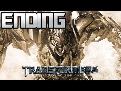 Transformers Revenge Of The Fallen - Decepticon Campaign - ENDING - G1 Megatron FTW!!!
