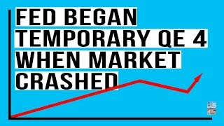 When the Stock Market Crash In Feb 2018 Happened, the Fed Began A Temporary QE4! Here's Proof.