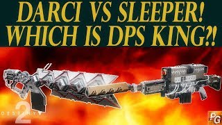 Destiny 2: DARCI VS Sleeper Simulant! Which Has Better DPS?