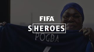 Sheroes: Mrs Pogba lights the way for three footballing sons