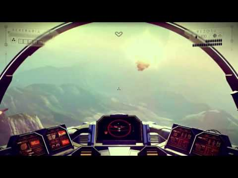 No Man's Sky (PS4) - 12 Minute Gameplay & Interview - 1080p HD