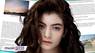 Lorde Reveals Why She's Been Silent & New Music Is Coming!