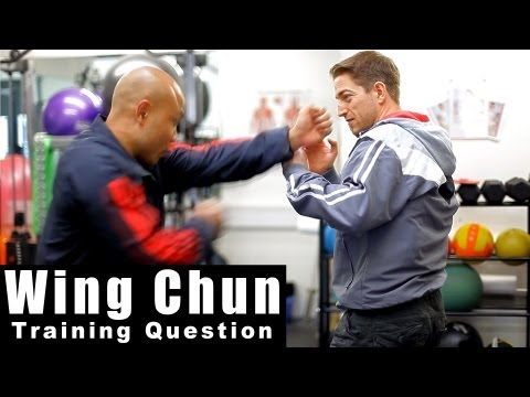 wing chun techniques - how to deal with street attack Q13 Image 1
