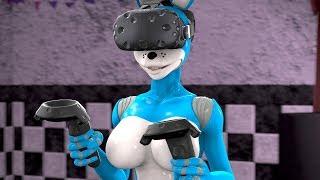 [SFM FNAF] Bonnie playing virtual reality