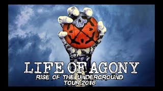 LIFE OF AGONY - West Coast Tour (Rise of the Underground Trailer)