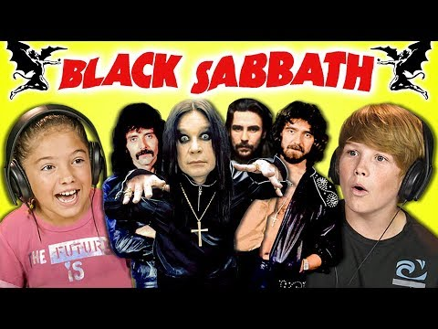 KIDS REACT TO BLACK SABBATH