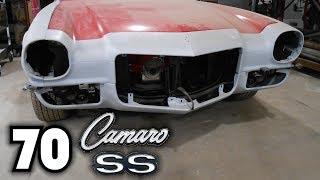 "70 Camaro SS Project ""Aftermarket Fender Gap Problems"""