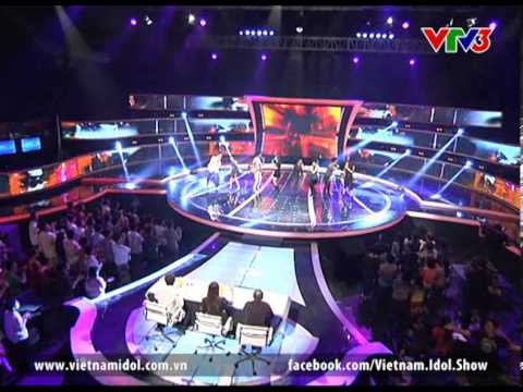 Vietnam Idol 2012 - Kết quả Gala 3 - Rain Over Me - Top...