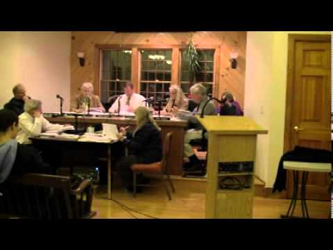 HOPKINTON TOWN COUNCIL MEETING -- January 22, 2013