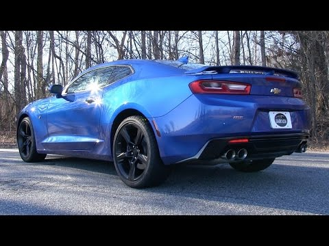 Pure Sound: 2016 Chevrolet Camaro SS w/ Dual Mode Exhaust (Cold Start. Revs. Acceleration)