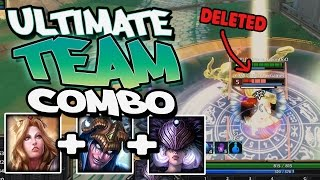 Smite: The Ultimate Cheese 3v3 Team! Athena+Loki+Nox Ultimates!