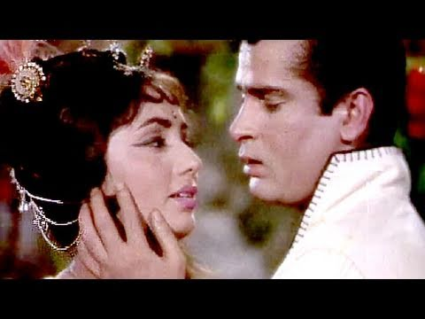 Tumne Pukara Aur Hum Chale Aaye - Shammi Kapoor, Sadhna, Rajkumar, Romantic Song video