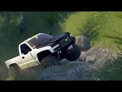 Spin Tires | Mod Review | QMs Chevy Silverado Short Bed