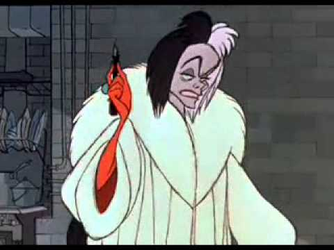 Cruella Deville is listed (or ranked) 43 on the list The Creepiest Characters in TV History
