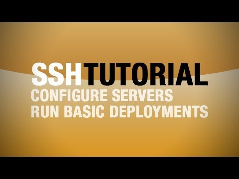SSH Tutorial - Basic server administration with SSH