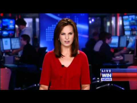 BLOOPER: Nine Breaking News with Wendy Kingston (12/01/2011) Music Videos