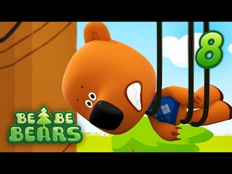 BE BE BEARS Ep 8 - Family friendly series - latest cartoon movies 2017 KEDOO animation for kids