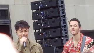 Free Jonas Brothers Concert on the Today Show 6/7/19