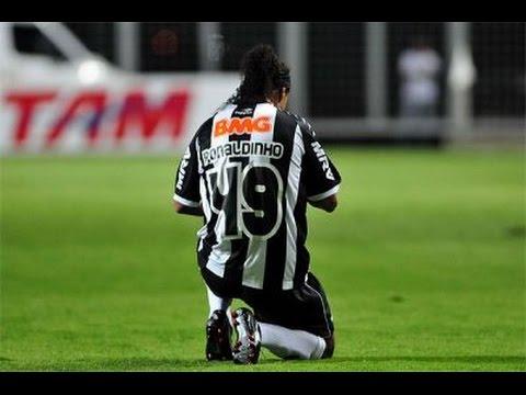 O melhor jogo de RONALDINHO no Atlético-MG