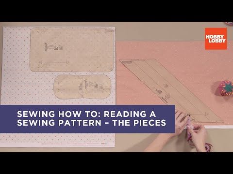 How to Read a Sewing Pattern: The Pieces