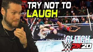 Try not to Laugh WWE 2K20 Glitches