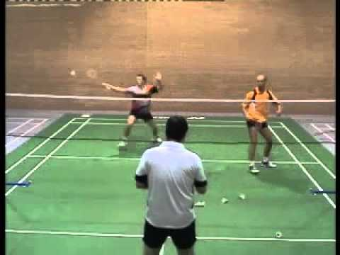 Badminton Doubles: Helping The Front Court Player video