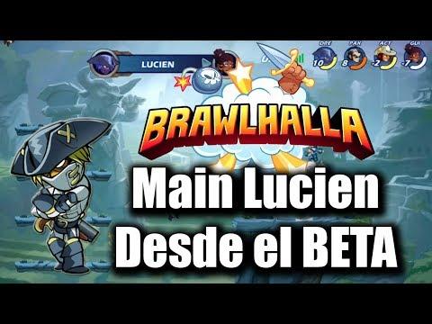 ¡BRAWLHALLA, MAIN Lucien desde el BETA! | ¡TENEMOS CLAN! | Dreggoner