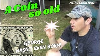 Older Than Old! - Metal Detecting finds my oldest coin ever & I got attacked in the process