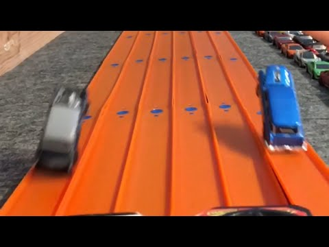 HOT WHEELS DRAG RACING WITH BOOSTERS...Day 3
