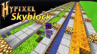 Enchanted Lava Bucket! Mega Melonenfarm & Cobble Generator! - Minecraft Hypixel Skyblock #34