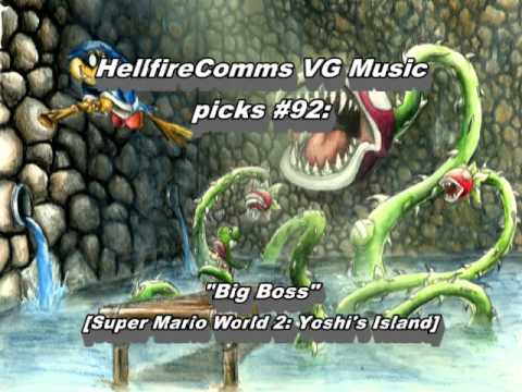 Misc Computer Games - Super Mario World 2 Yoshis Island - Big Boss