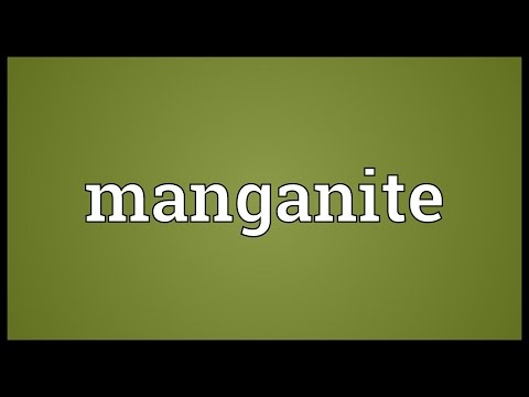 Header of manganite