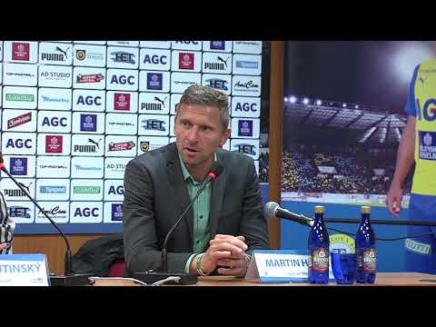 Tisková konference hostujícího týmu po zápase Teplice - Bohemians (15.9.2017)