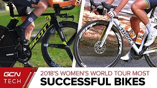 The Most Successful Bikes Of The Women's World Tour 2018