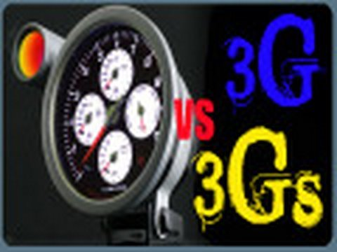 My 3Gs vs 3G Speed Test.