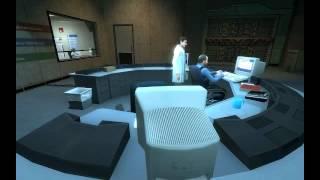 Lets Play Black Mesa # 1 - Dr. Freeman in der Gondel als Einleitung - (Deutsch/German)