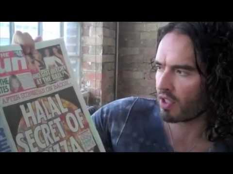 The Trews Ep 53 - Russell Brand talking about Halal