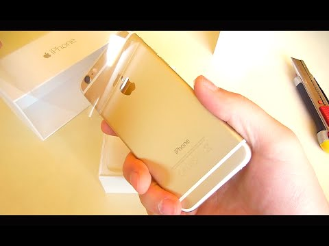 Iphone 5s Gold Unbox Iphone 6 Gold Unboxing vs