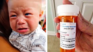 Doctor Gives 7-Year-Old 'Medicine' For Illness, But Mom Checks The Label & Feels Sick To Her Stomach