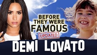 DEMI LOVATO | Before They Were Famous | UPDATED