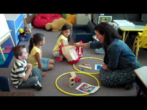 Small Group Oral Language Sample for Early Childhood Education
