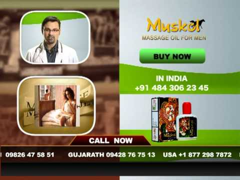 Muskol Pleasure Massage Oil For Men