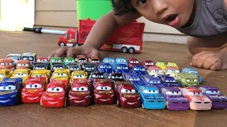 Disney Cars Toys 2018 NEW Lightning McQueen Mini Racers 15 pack Derby Racers Series Preview