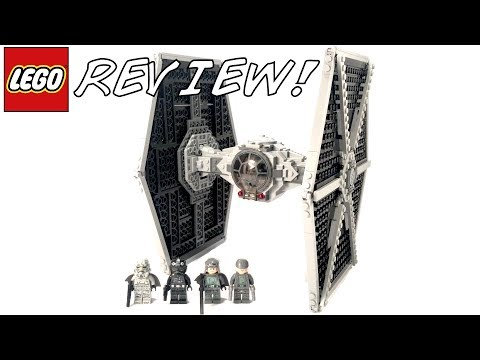LEGO Star Wars 75211 Imperial Tie Fighter Review!
